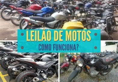 Leilão de Motos do Bradesco